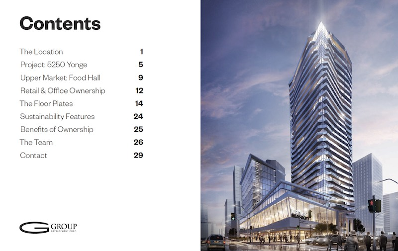 North York Pre Construction Commercial on Yonge Street
